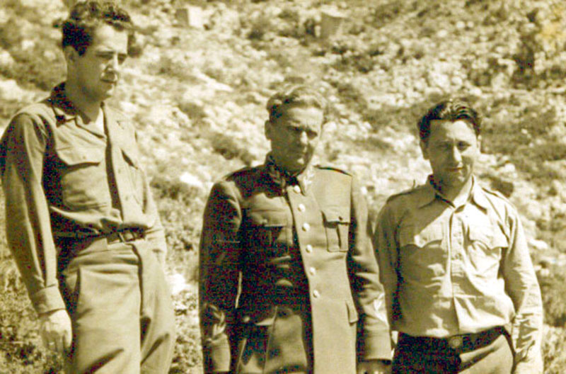 Milovan Đilas, Josip Broz i Aleksandar Ranković