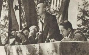 Pavle Gregorić govori, Franjo Tuđman je prvi sleva