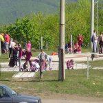 Čišćenje i uređenje spomen-kompleksa u Bijelom Potoku