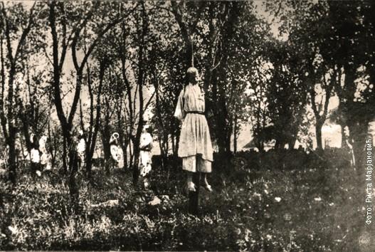 Seljaci iz Jadra obešeni na granama drveća