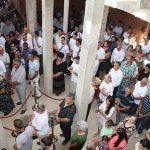 У Храму Васкрсења у Пребиловцима прва литургија и крштење