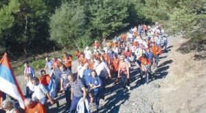 Marš Stazama egzodusa