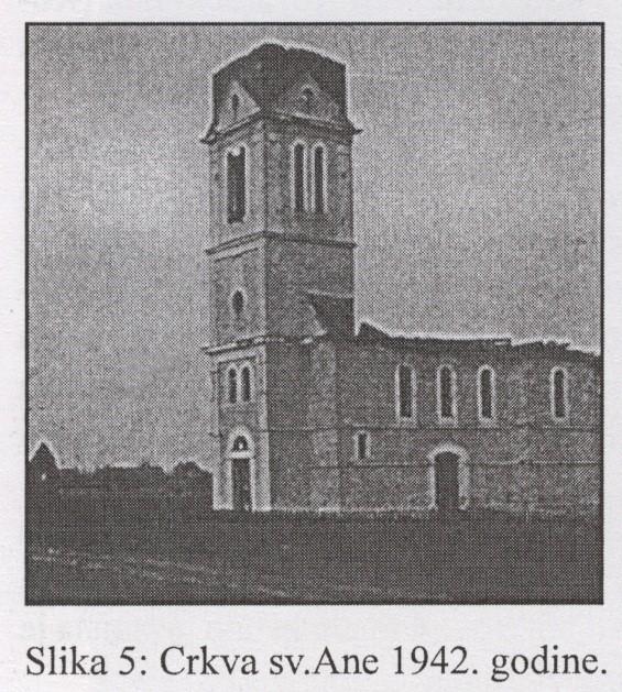 Слика 4: Црква Св. Ане 1942. године