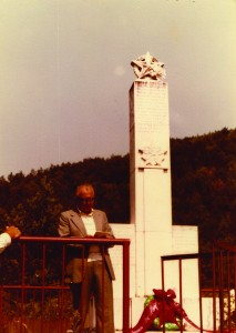 Spomenik u Kruškovačama, podignut 1956.godine.