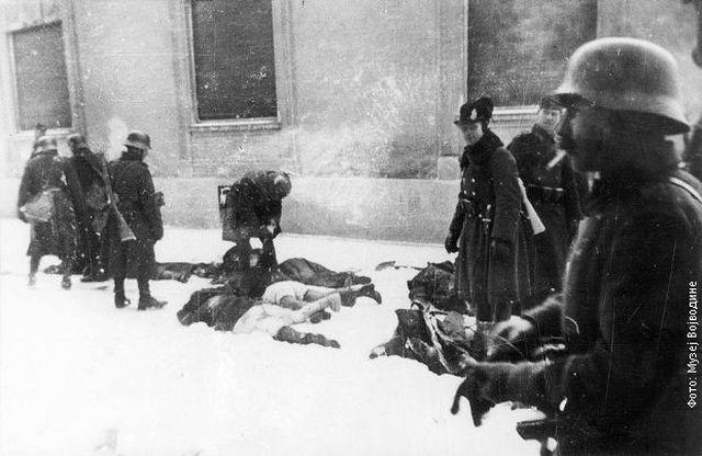 Mađarski okupatori ubijaju srpske i jevrejske civile tokom Racije u Novom Sadu