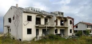 Devastirane srpske kuće
