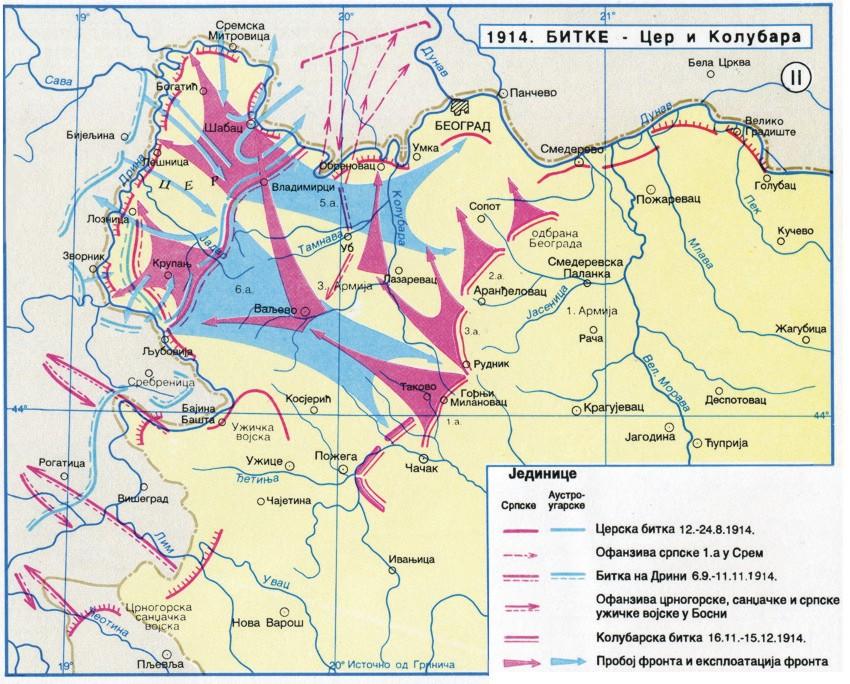 Cerska - Kolubarska bitka