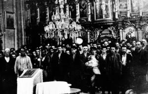Slika prije zločina - stara glinska crkva