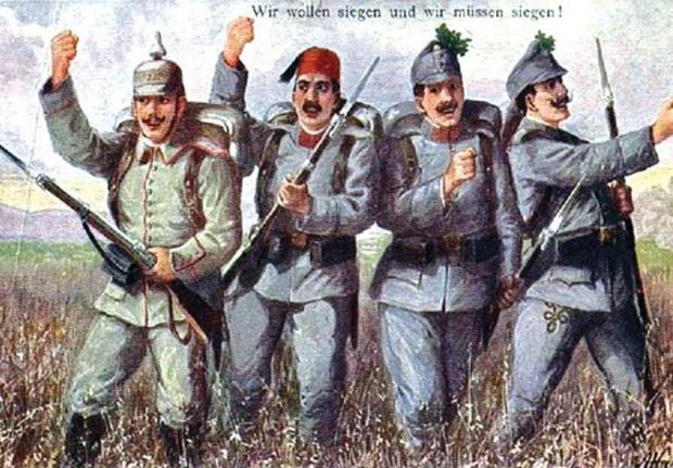 Borbeni plakat austrougarske vojske
