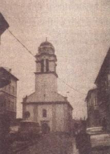 Crkva Sv. Đorđa u Gospiću, snimio M.Matić, mart 1990. g.