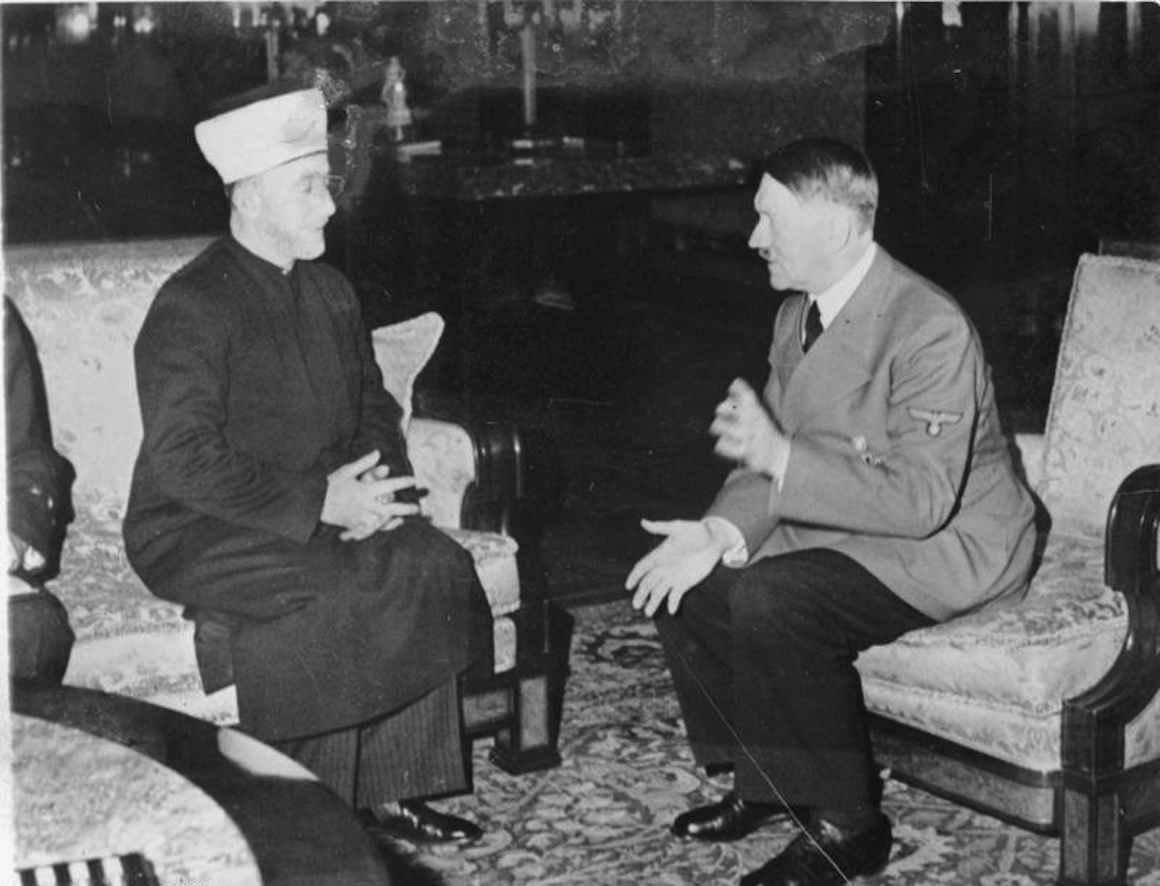 Jerusalimski muftija Muhamed Amin el Huseini i Adolf Hitler