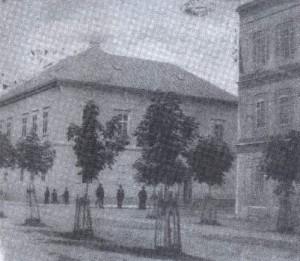 Kuća u Gospiću gde su Milutin i Đuka živeli od 1863. godine