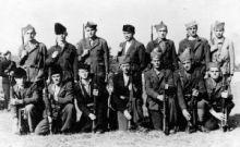 Grupa boraca četnika iz Like