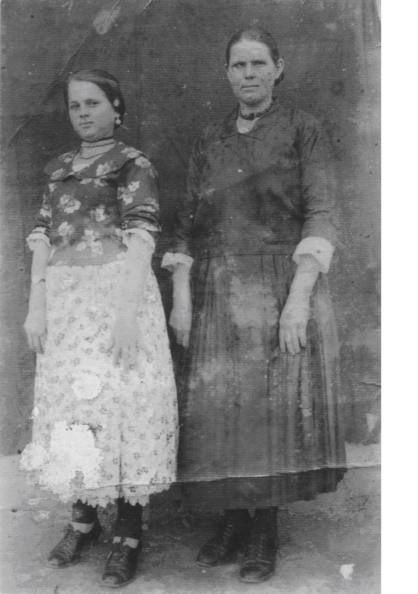 Ljuba i Milja Karan, Crkveni Bok ratne 1942. god.