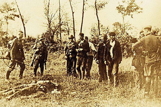 Nijemci ubijaju civile