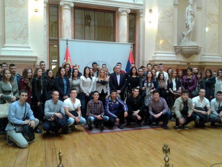 Mladi iz Srpske posjetili Skupštine Srbije