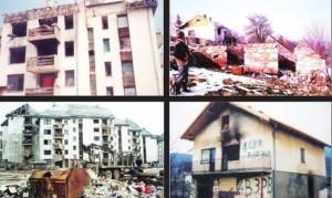 Mrkonjić Grad poslije napada hrvatske vojske