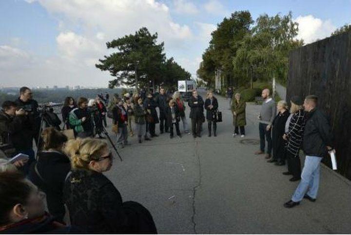 Na Kalemegdanu otvoren paviljon sjećanja na proboj logoraša iz Jasenovca (Foto Tanjug.rs)
