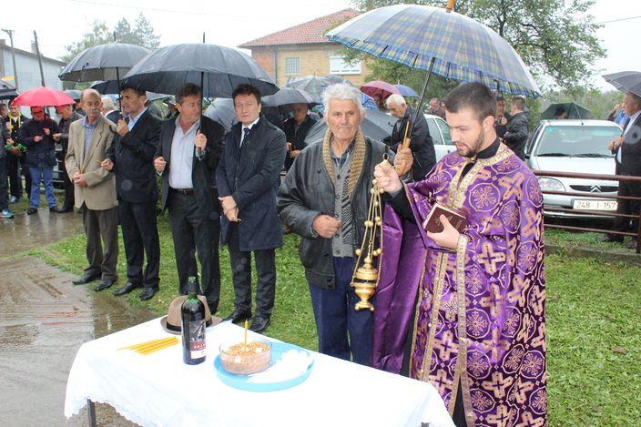 Служен парастос у Доњем Забрђу код Угљевика