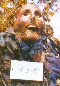 Tijelo Rajka Baraća pronađeno na Lipovoj Glavici decembra 1991.
