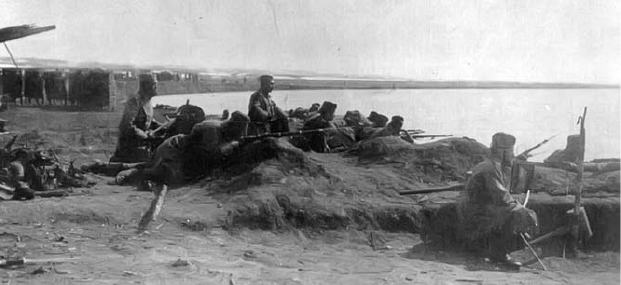 Trupe odbrane Beograda, oktobar 1915.