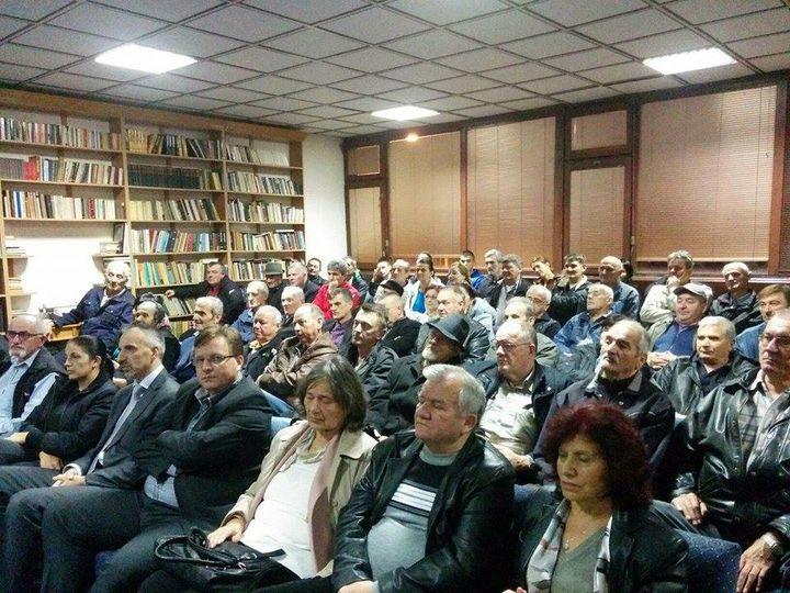 U Vlasenici promovisana knjiga o stradanju Srba sa područja opštine Kladanj