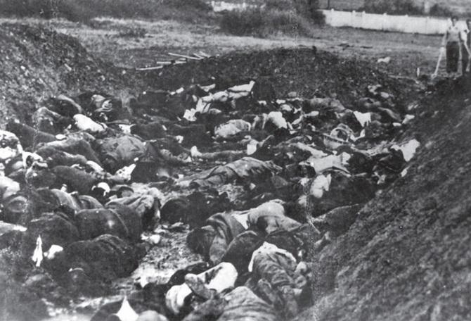 Стрељани српски цивили