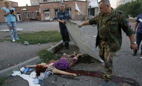 Žrtve pokolja u Ukrajini
