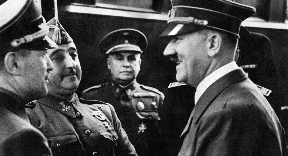 Adolf Hitler i Francisko Franko