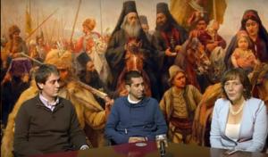 Autori emisije Čas istorije.