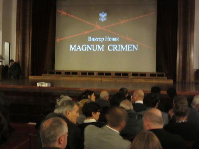 """Predstavljeno prvo ćirilično izdanje knjige """"Magnum krimen"""""""