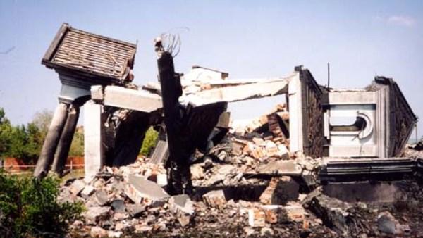 Reci kod Vučitrna srušena 1999.godine