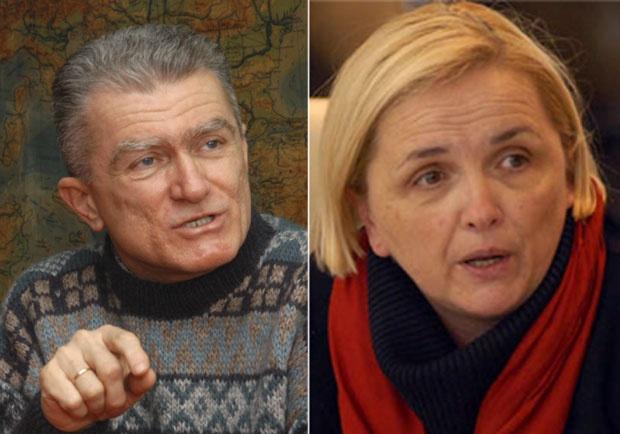 Dr Milan Koljanin i Dr Radmila Radić