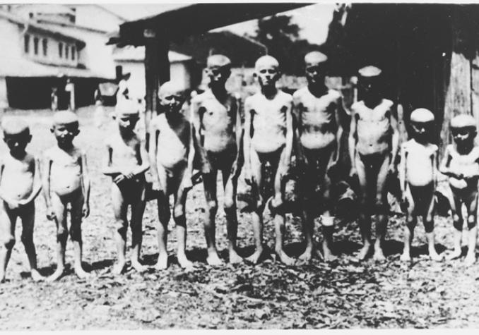 Srpska djeca u Jasenovcu