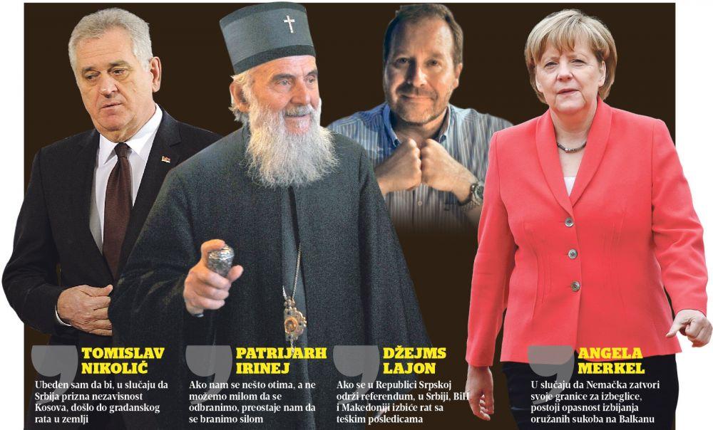 Ko i zašto priziva rat na Balkanu?