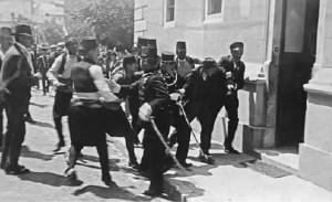 Недељко Чабриновић ухапшен jе после атентата