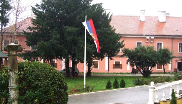 Patrijaršijski dvor u Sremskim Karlovcima koji je podigao Rajačić