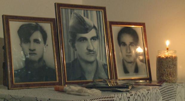 Poginula braća Lazarević - Bora, Savo i Stanko