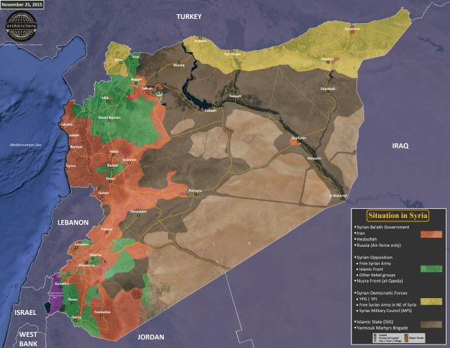 Sirija - front