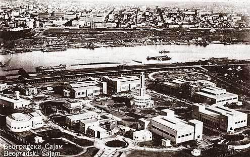 Sajmište pre Drugog svetskog rata