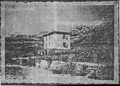 Vila dra Triplata u Metajni, u kojoj su ustaše držale djevojke, žene i majke s djecom u ljeto 1941.