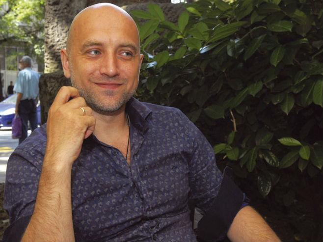 Pisac Zahar Prilepin (Foto: B. Danilov Izvor: http://www.novosti.rs)