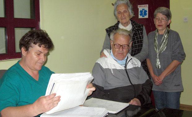 Živka Barać, Aleksandar i Dragica Janićijević i Vera Nikolić
