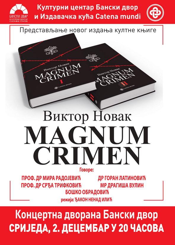 Promocija Magnum crimen-a u Banjaluci!