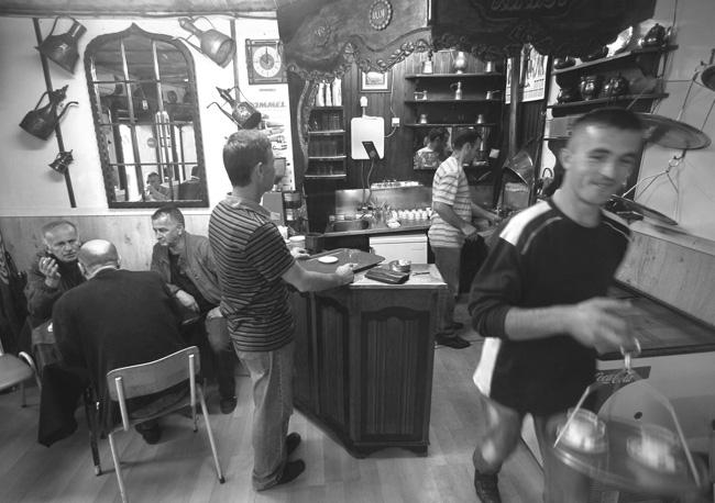 Čajdžinica u Novom Pazaru (Foto Beta/AP)