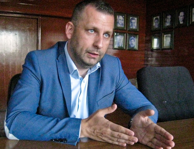 Ministar za povratak i zajednice Dalibor Jevtić