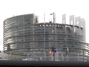 Zgrada Evropskog parlamenta u Strazburu Foto: SRNA