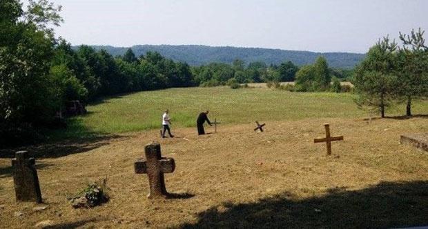 Гробље у Горњем Селишту