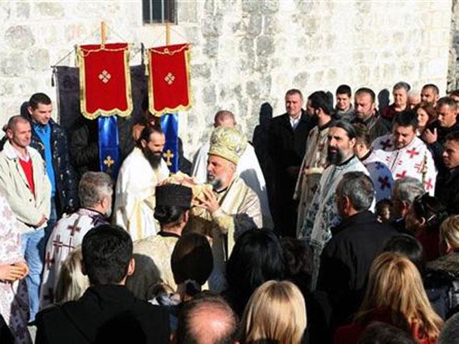 Manastir Zavala  Foto: SRNA
