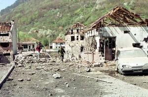 Мурино после напада НАТО